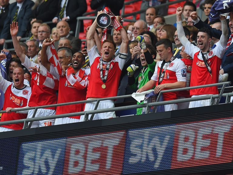 Fleetwood can celebrate at Wembley again