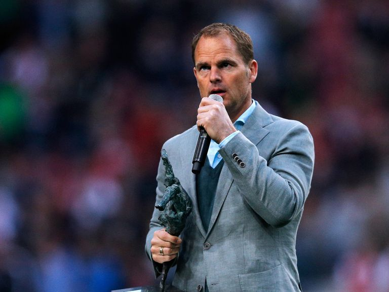 Frank de Boer: Dutchman has been a success at Ajax