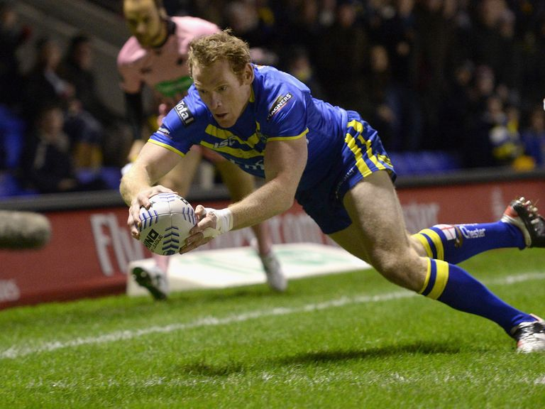 Joel Monaghan: Key man for Warrington