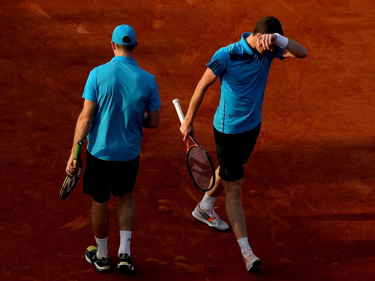 Woe for John Peers and Jamie Murray