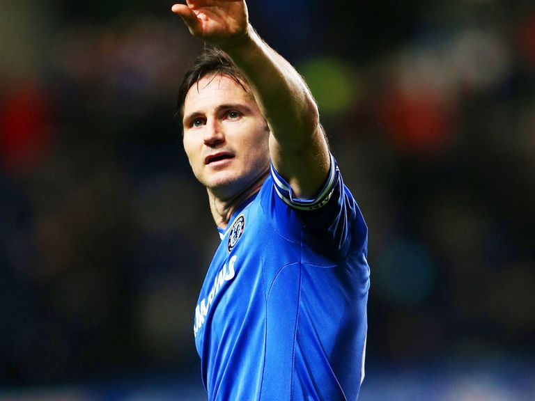 Frank Lampard: England international may have played his last game for Chelsea