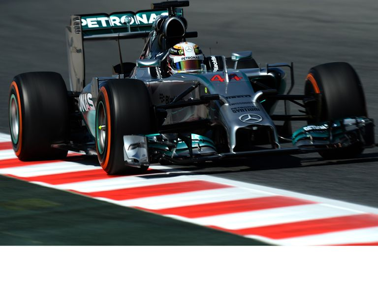 Lewis Hamilton: Shone in second practice for the Spanish Grand Prix