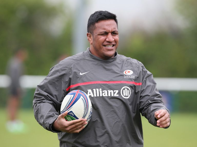 Vunipola: Ruled out of Saturday's Aviva Premiership final