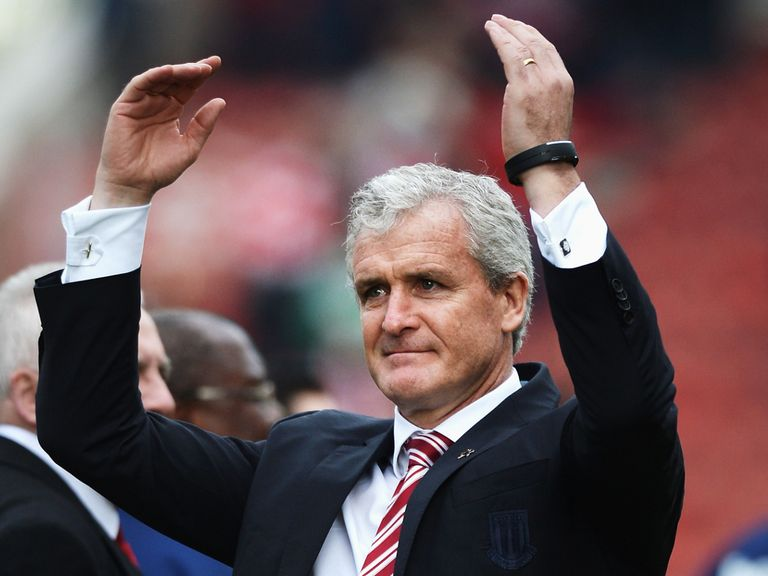 Mark Hughes' Stoke can secure another top-half finish