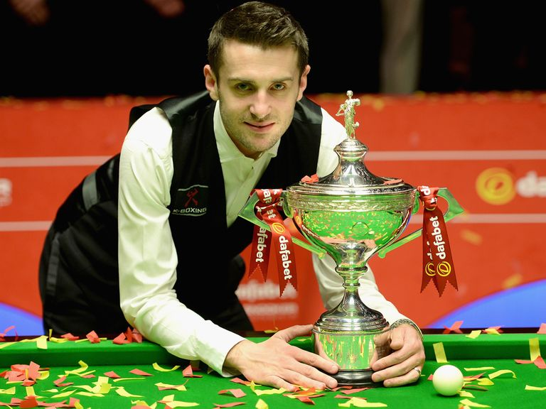 Mark Selby: Plays snooker for the love of the game