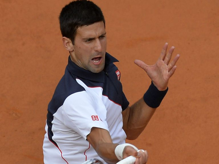 Novak Djokovic: Sent out a warning to world No 1 Rafael Nadal in Rome