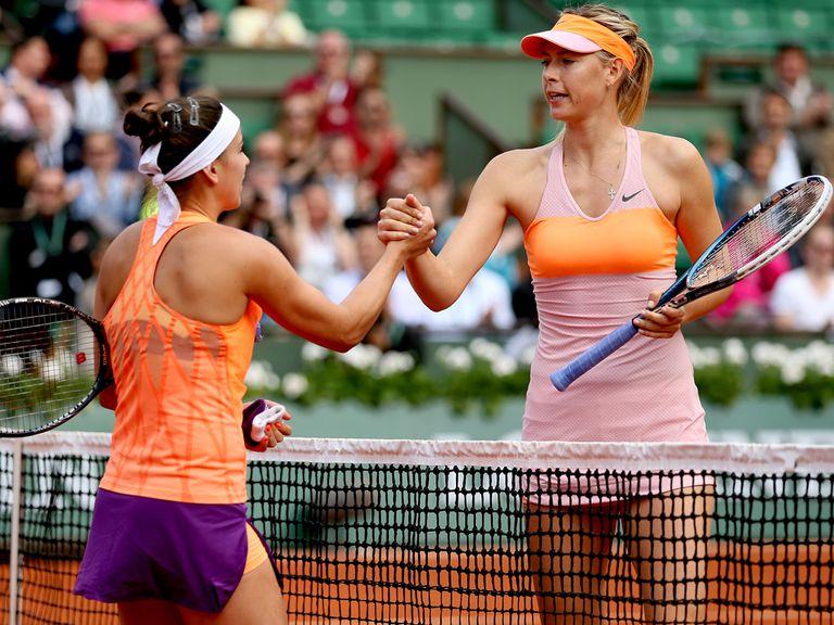 Russia's Maria Sharapova defeated Paula Ormaechea