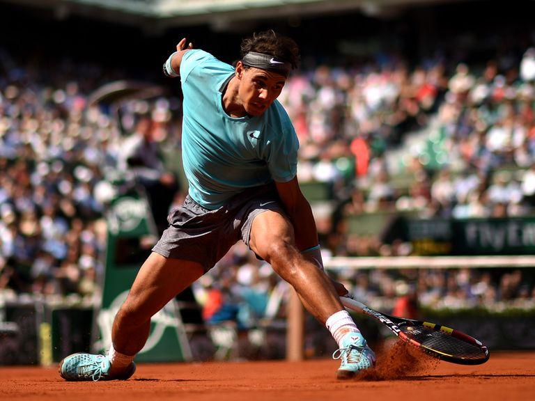 Rafael Nadal: Surged to victory in Paris
