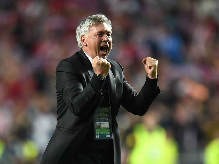 Ancelotti: Was the first choice of Ferguson last summer