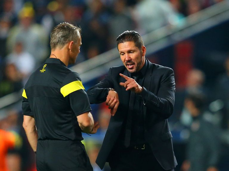 Diego Simeone was seconds away from Champions League glory