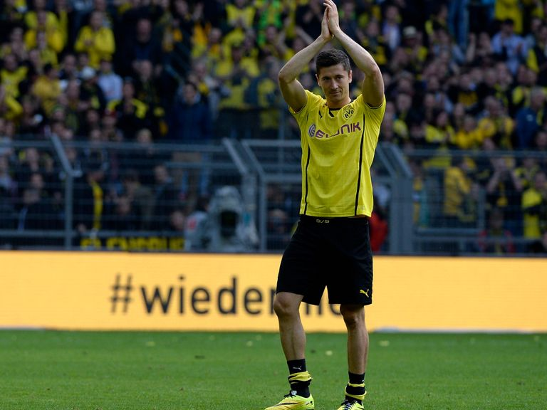 Robert Lewandowski: Looking forward to his next challenge