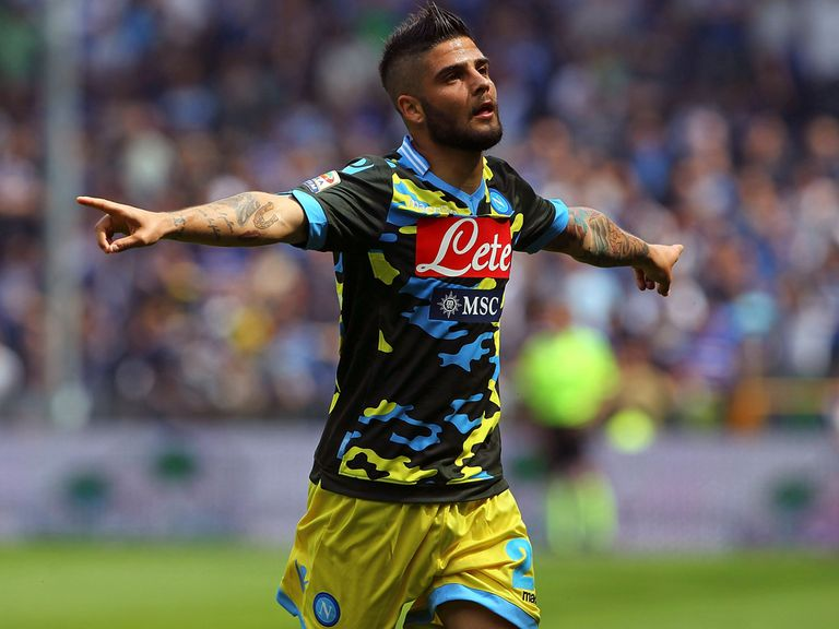 Lorenzo Insigne: Under contract with Napoli until June 2017