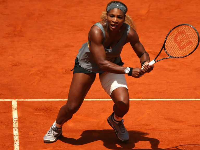Serena Williams: Defending champion
