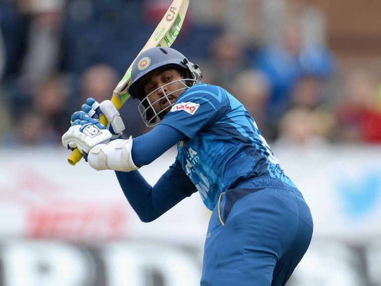 Dilshan top scored for Sri Lanka