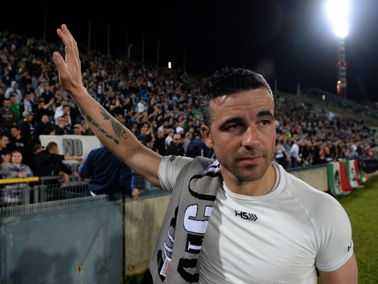 Antonio Di Natale waves goodbye