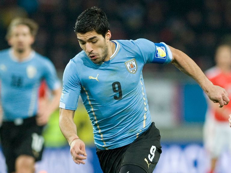 Uruguay's Luis Suarez is likely to be fit for the World Cup