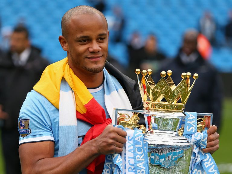 Vincent Kompany: Signed a new five-year deal