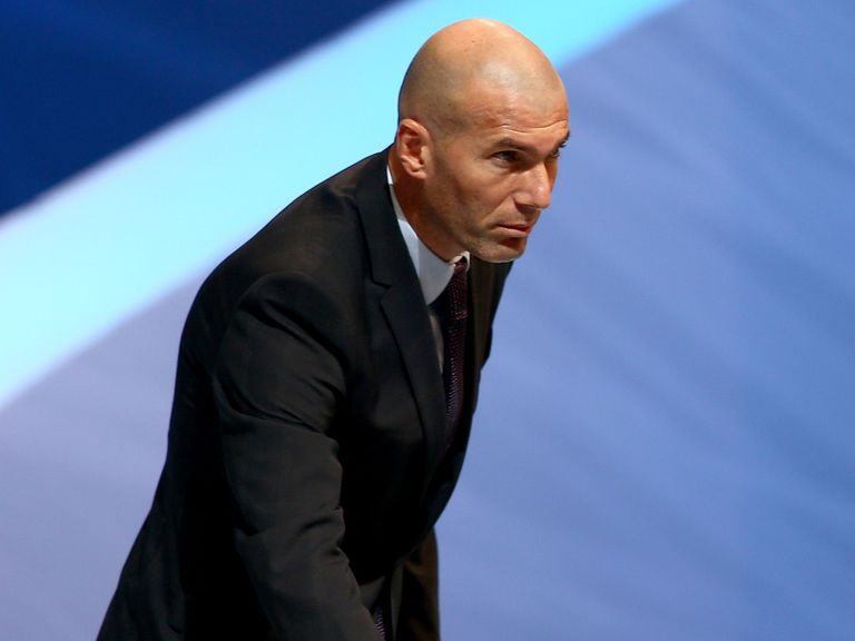 Zinedine Zidane: Will not coach Bordeaux
