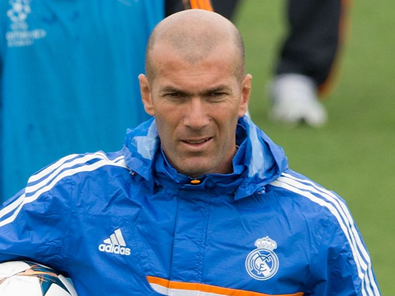 Zidane: New boss of Real Madrid's second team