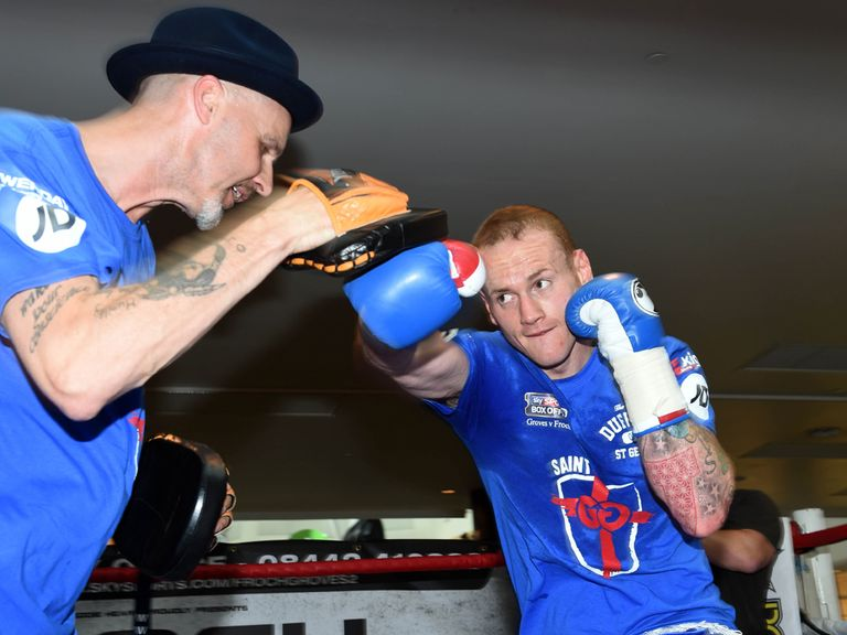 George Groves: Preparing to fight Carl Froch