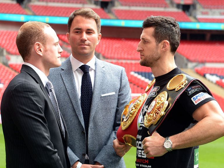 Hearn is relishing the clash between Froch and Groves