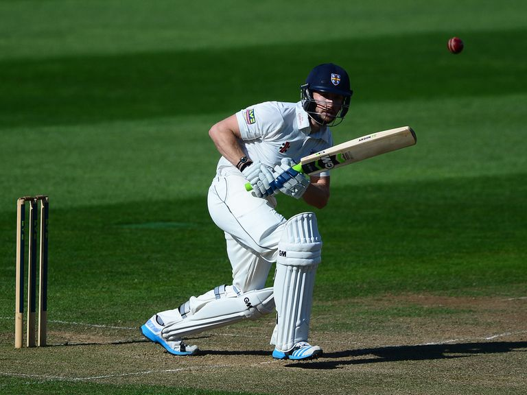 Mark Stoneman: Helped thwart Yorkshire at Headingley