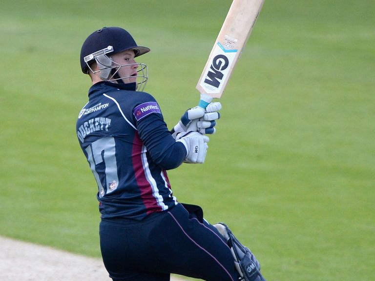 Ben Duckett of Northamptonshire saw his side home at Headingley