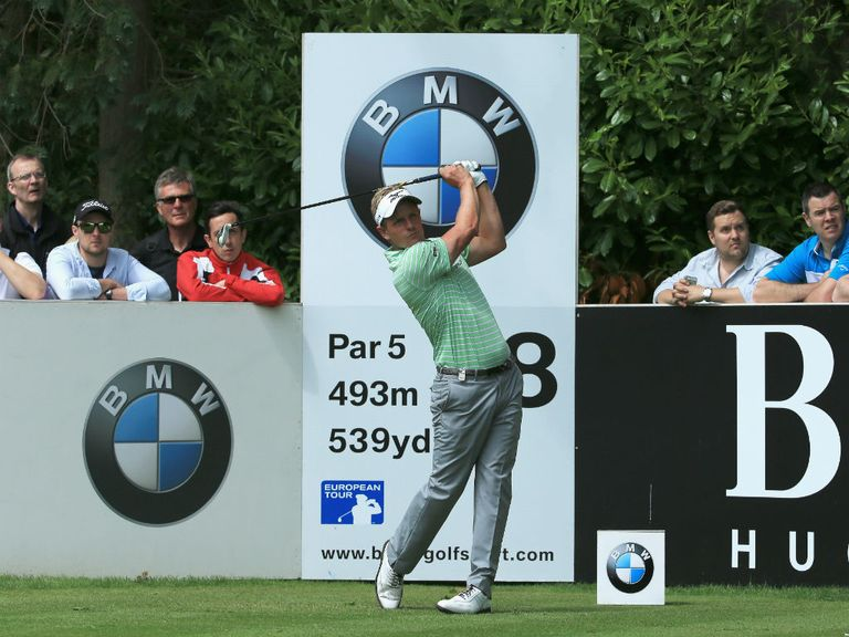 Luke Donald: The Englishman is looking for a third victory at Wentworth