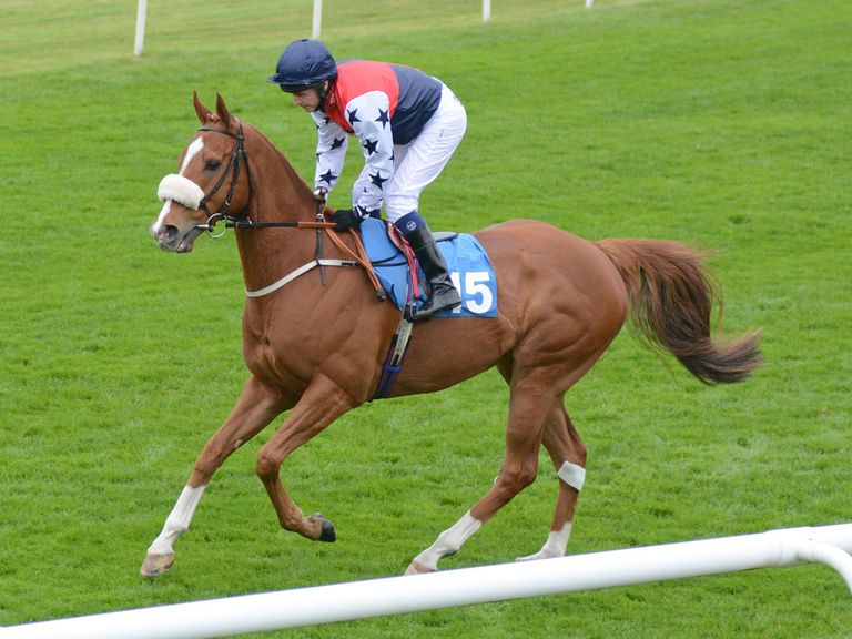 Farlow: Back up in trip at Thirsk. (Sal Smithson: www.richardfahey.com)
