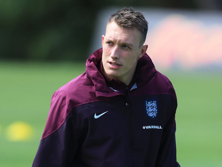 Phil Jones: Backed by Roy Hodgson