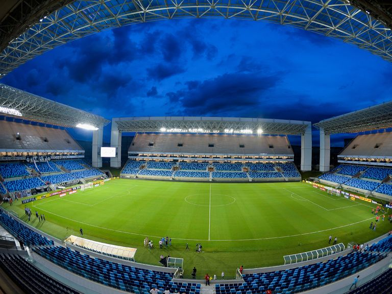 The Arena Pantanal venue in Cuiaba.