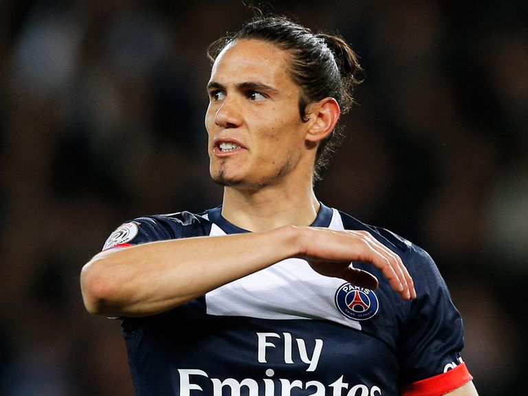 Edinson Cavani: Linked with move this summer