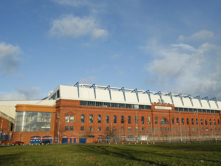 General view of Ibrox Stadium