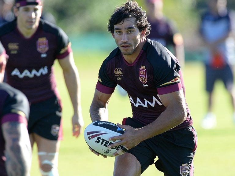Jonathan Thurston in training this week