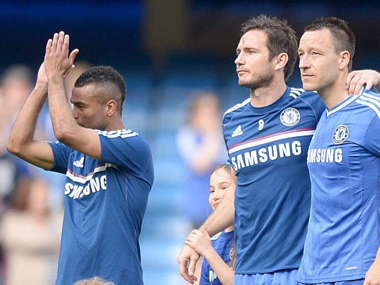 Cole, Lampard and Terry are all out of contract this summer