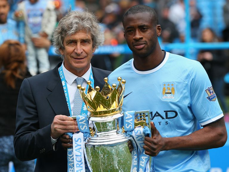 Yaya Toure (right): Could sign a new deal soon