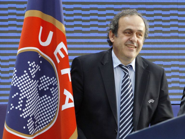 Michel Platini: UEFA president