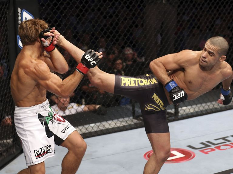 Renan Barao (Right): On a mission to regain his Bantamweight title.
