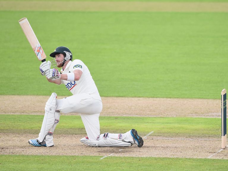Riki Wessels: Quickfire runs for Notts