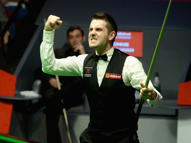 Mark Selby is the new world champion in Sheffield
