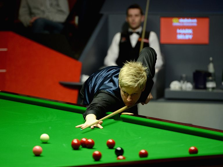 Neil Robertson: Victory on home soil