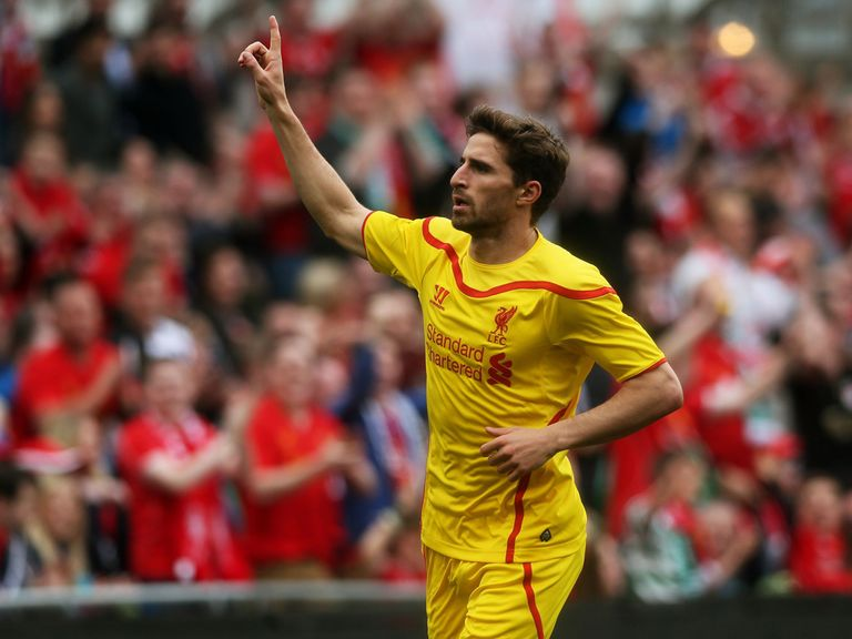 Fabio Borini was among the scorers in Dublin