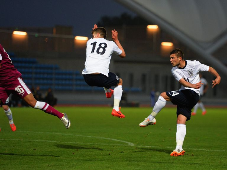 Jake Forster-Caskey: Strikes England's second goal