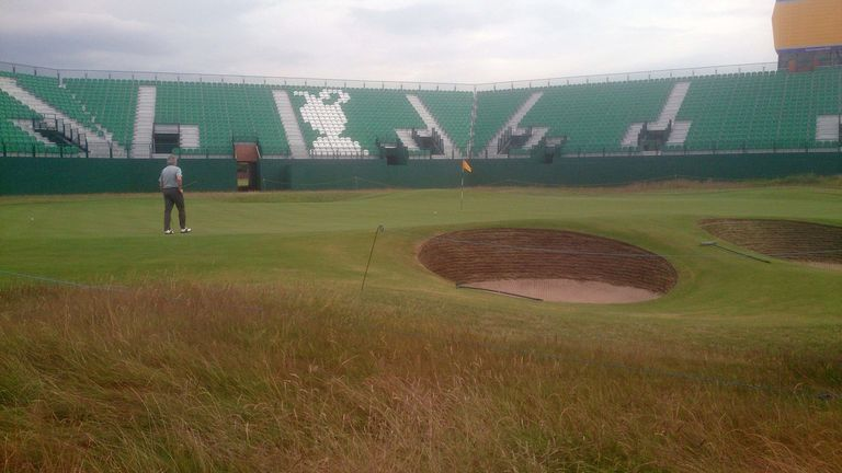The bunkers provide extra protection at the last
