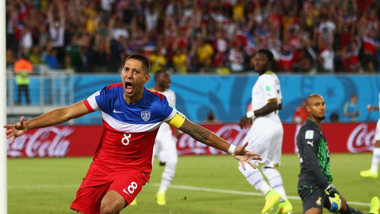 Dempsey: 34 seconds on the clock