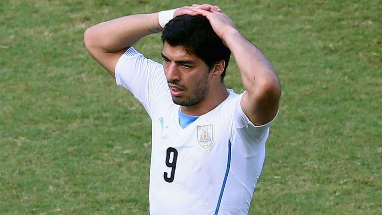 Luis Suarez: Will be desperate to return to the football pitch soon