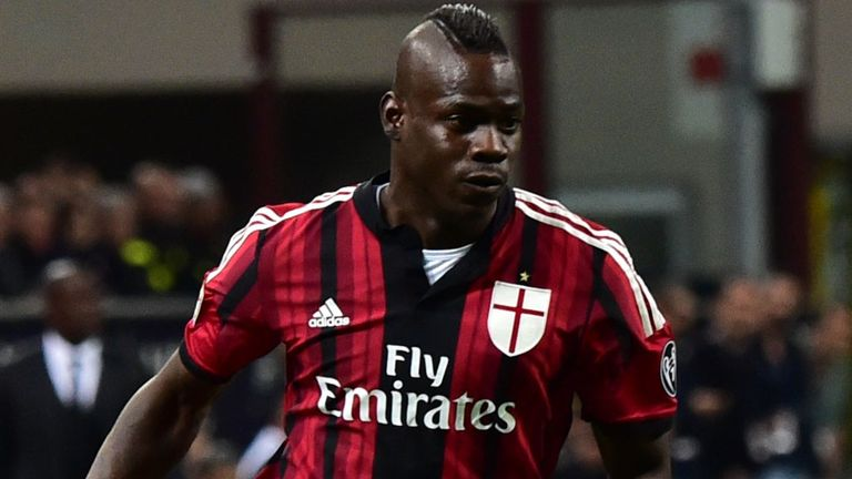 Mario Balotelli: Likely to stay in Milan, according to Silvio Berlusconi