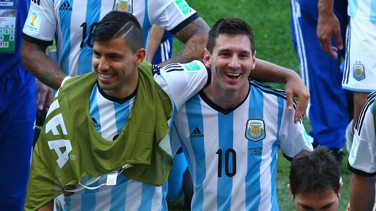 Lionel Messi's late winner sparked great scenes in Belo Horizonte