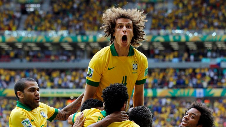 David Luiz: Has completed his move from Chelsea to PSG