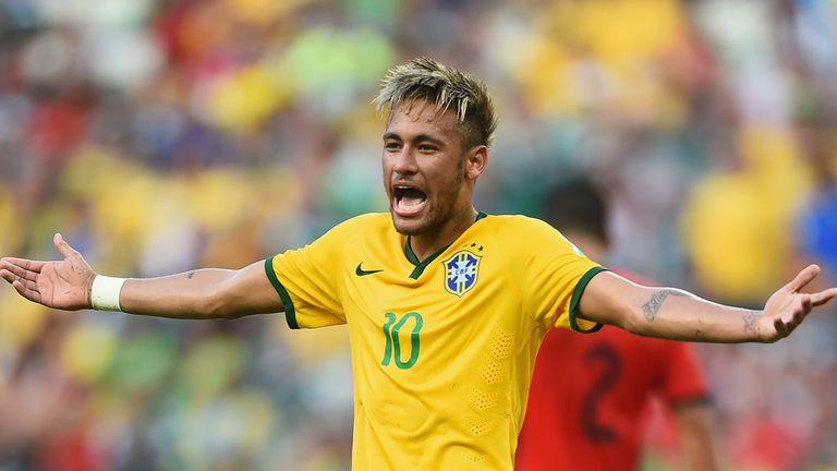 Neymar was unable to break the deadlock